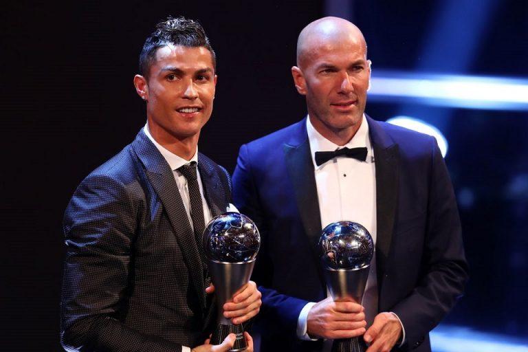 Ungkapan Berkelas Zidane atas Kepergian Ronaldo