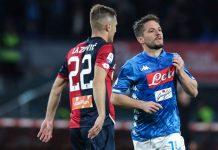 Usai Ditahan Imbang oleh Genoa, Napoli Gugup Lawan Arsenal