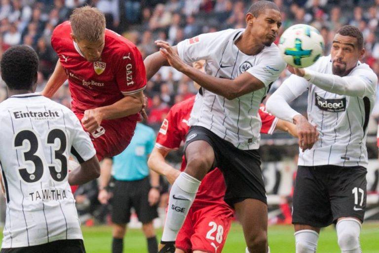Gebuk Stuttgart, Frankfurt Kian Dekat ke Liga Champions