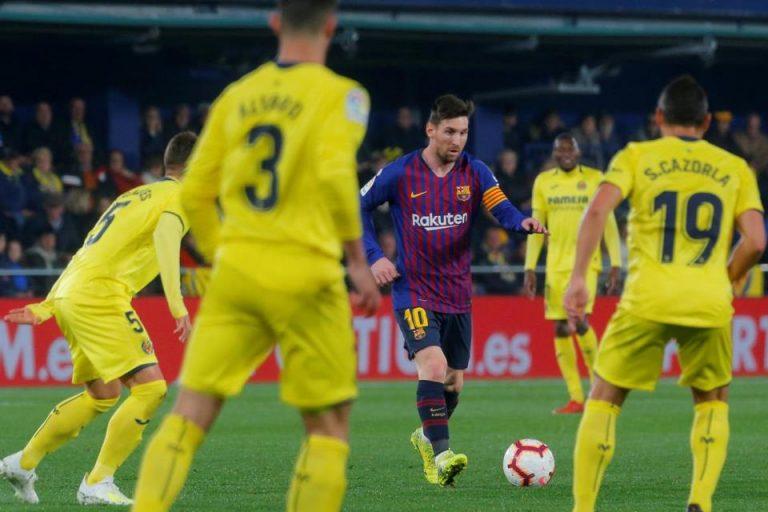 Drama Delapan Gol Tercipta, Barcelona Ditahan Imbang Villarreal