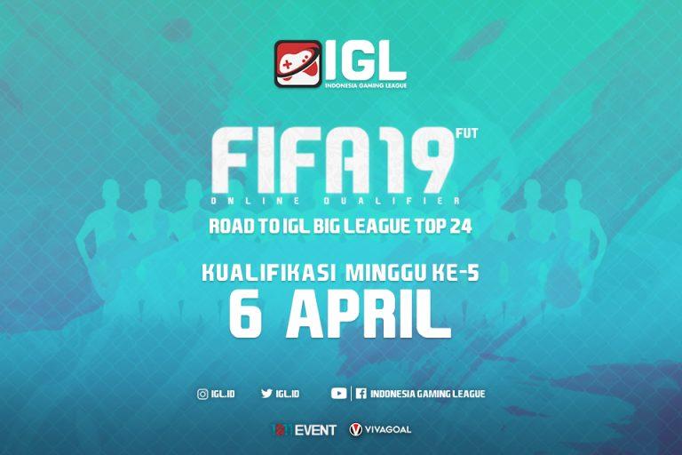 Malam Ini, Registrasi Online Qualifier FIFA 19 FUT Minggu Kelima Akan Ditutup