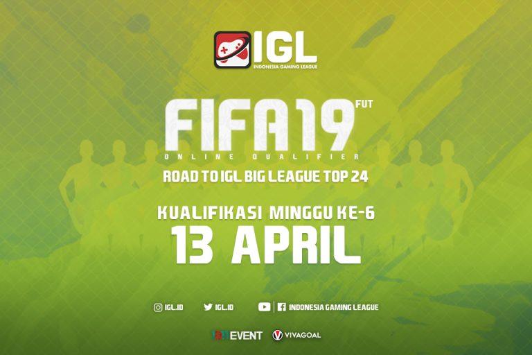 Registrasi Online Qualifier FIFA 19 FUT Minggu Keenam Akan Ditutup Dini Hari Nanti