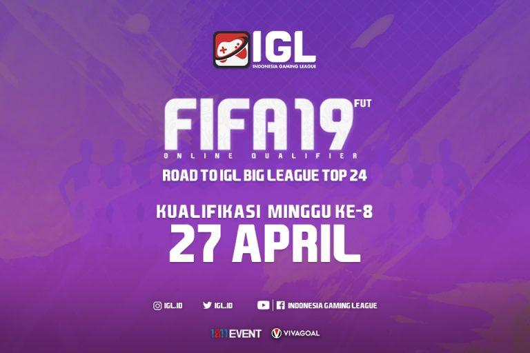 Last Chance untuk Para Player di Online Qualifier FIFA 19 FUT Minggu Kedelapan