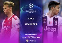 Prediksi Ajax vs Juve: Sejarah Berpihak Ke Bianconerri