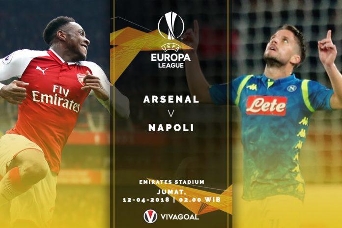 Preview Arsenal v Napoli: Final Dini di Delapan Besar Liga Europa