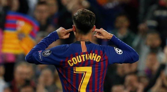 Selebrasi Philippe Coutinho