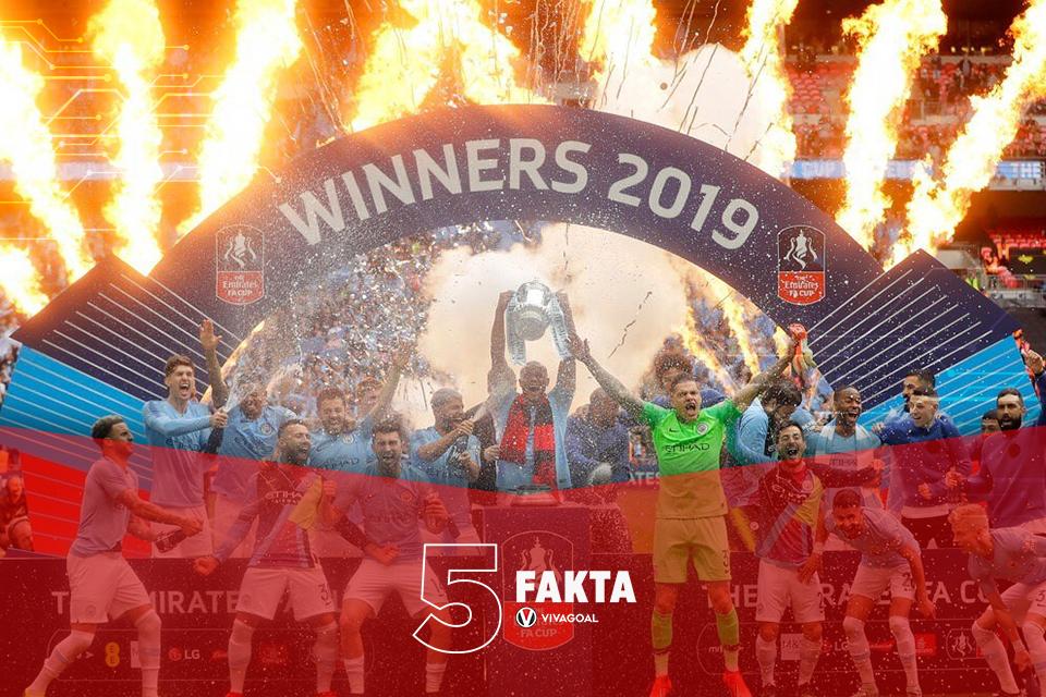 5 Fakta yang Jarang Terekspos Usai City Juara Piala FA