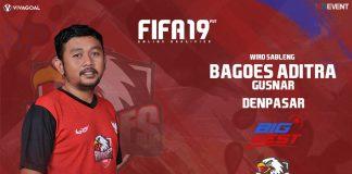 Aditra Gusnar Pasang Target Tinggi di Big League FIFA 19 FUT