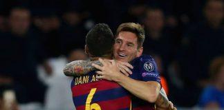 Alves ke Ronaldo Messi Memang Tidak Bisa Dikritik
