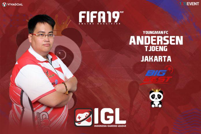 Harapan Besar Andersen Tjoeng di FIFA 19 FUT IGL