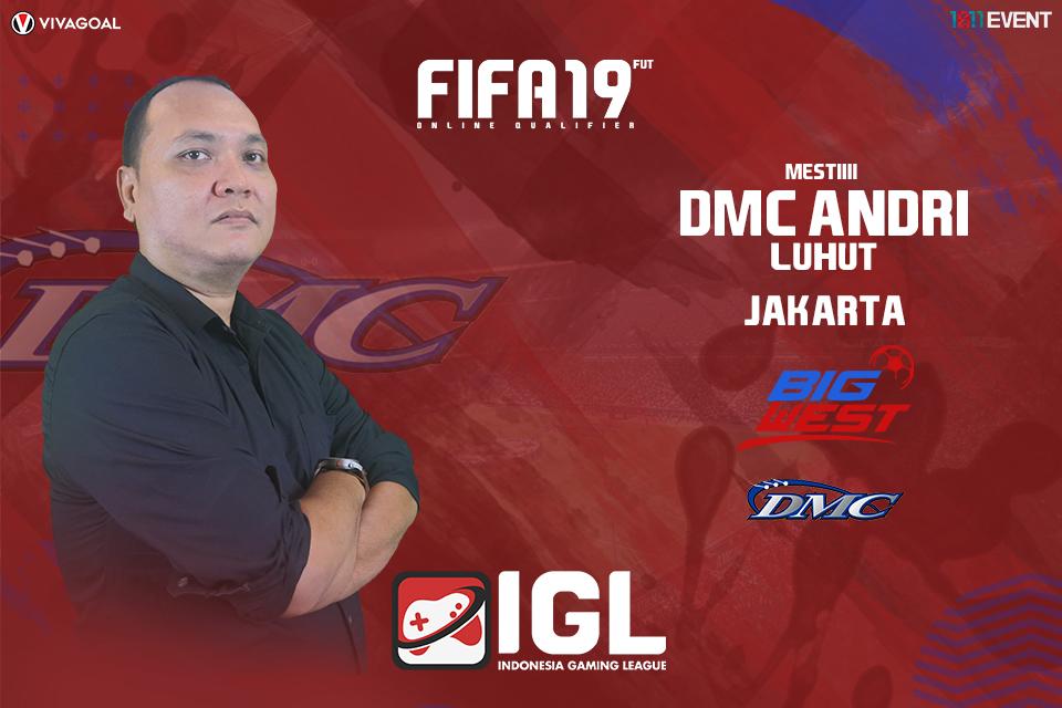 Andri Luhut Bakal Tampil Lepas di Big League FIFA 19 FUT