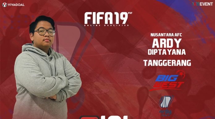 Ardy Diptayna Siap Tampil Tanpa Beban di Big League FIFA 19 FUT