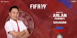 Arlan Paranti Siap Bertaji di Big League FIFA 19 FUT