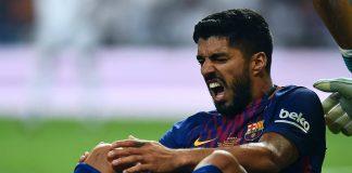 Barcelona Umumkan Suarez Bakal Jalani Operasi Lutut