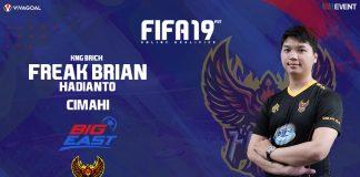 Juara Menjadi Target Brian Hadianto di FIFA 19 FUT IGL