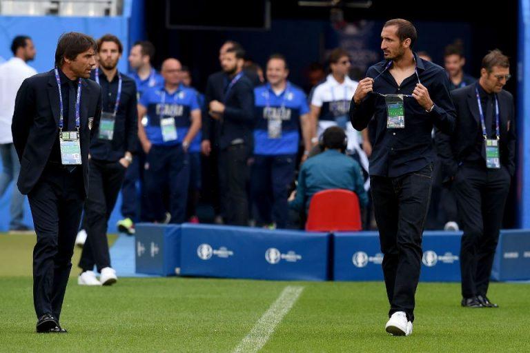 Chiellini Tak Suka Lihat Conte Merapat ke Inter