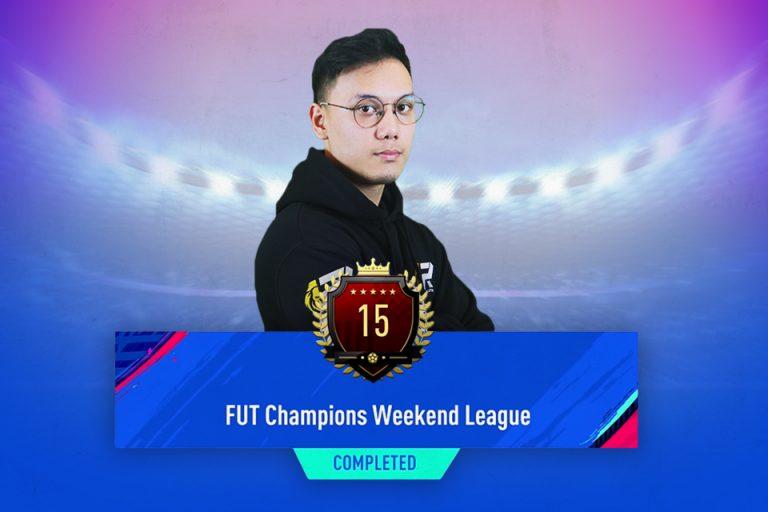 Raja Pugu Catatkan diri Sebagai Peringkat 15 Dunia  Weekend League!