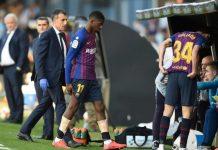Dembele Cedera, Bos Barcelona Harap-Harap Cemas