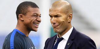Diisukan ke Madrid, Zidane Angkat Bicara tentang Mbappe