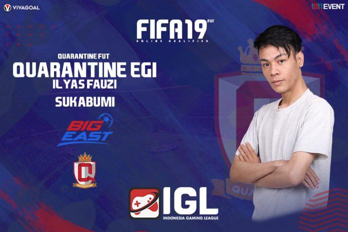 Egi Ilyas, Underdog yang Siap Bermain Lepas di Big League FIFA 19 FUT