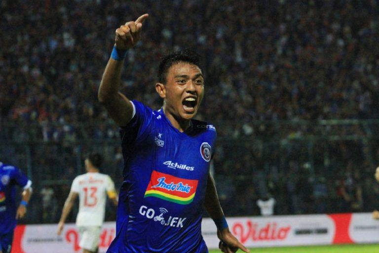 Pemain Lokal Arema Malang Jadi Striker Lokal Tersubur di Liga 1