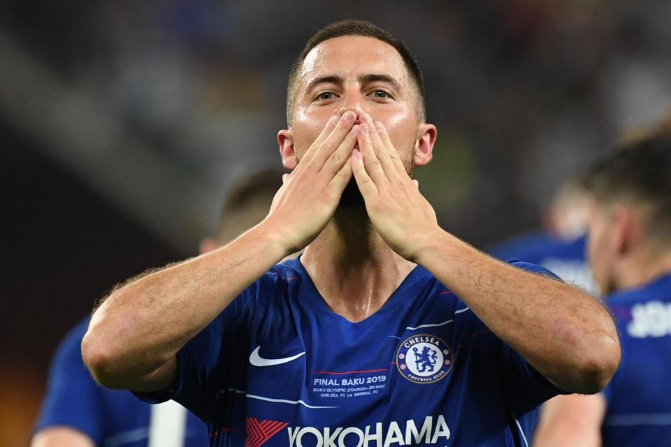 Bikin Haru! Begini Isi Surat Perpisahan Eden Hazard untuk Fans Chelsea