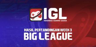 Big League FIFA 19 FUT Minggu ketiga