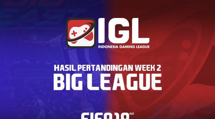 Hasil Pertandingan Week 2 Big League
