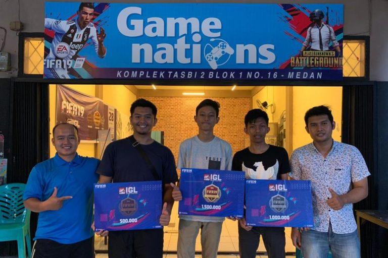 Sengitnya Pencarian Juara FIFA 19 Offline Competition Medan