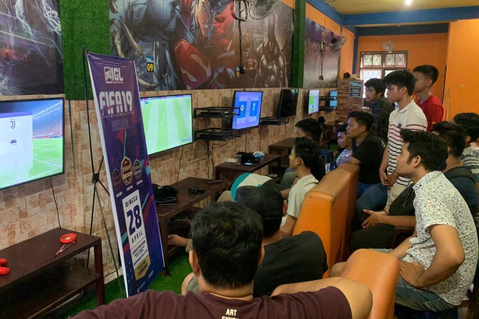 Suasana FIFA 19 Offline Competition Medan