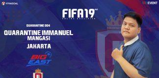 Immanuel yang Nothing To Lose di Big League FIFA 19 FUT