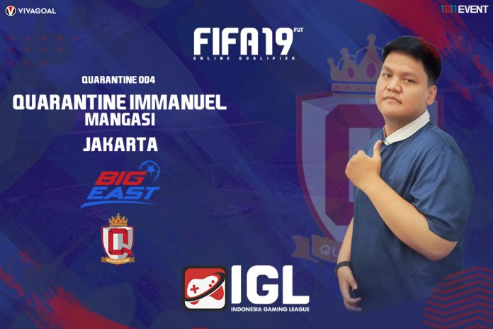 Immanuel yang Nothing To Lose di Big League FIFA 19 FUT