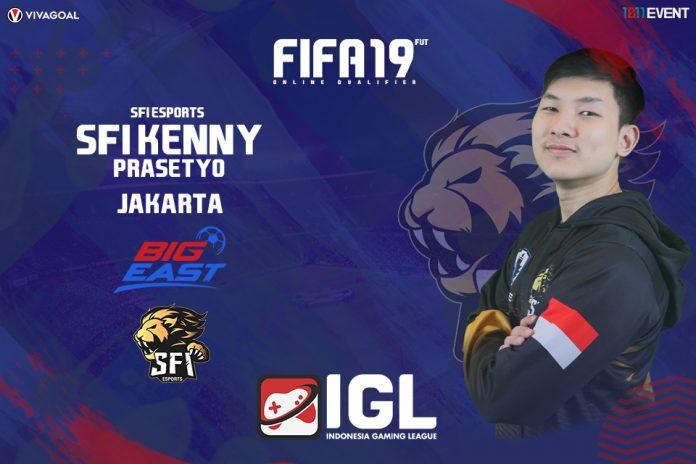 Kenny Prasetyo yang Siap Buktikan Diri di Big League FIFA 19 FUT