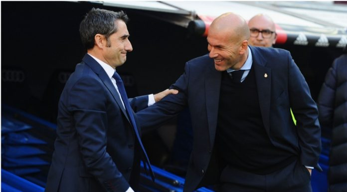 Kesulitan Menangi Liga Champions, Zidane Bela Valverde
