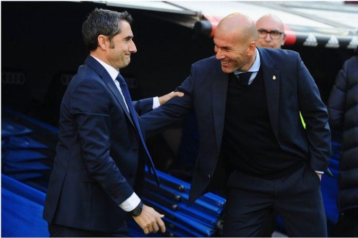 Kesulitan memenangkan Liga Champions, Zidane Bela Valverde