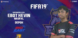 Kevin Naufal Bawa Ekspektasi Tinggi di FIFA 19 FUT IGL