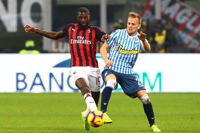 Laga Hidup dan Mati AC Milan Lawan SPAL