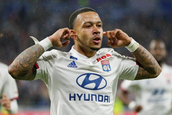 Memphis Depay Baru Dilepas Jika Lyon Dapat Tawaran 'Wah'
