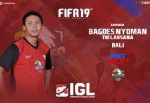 Nyoman Tri Laksana Incar Slot Semifinal di FIFA 19 FUT IGL