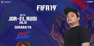 Rudi Julio Siap Tampil All Out di Big League FIFA 19 FUT