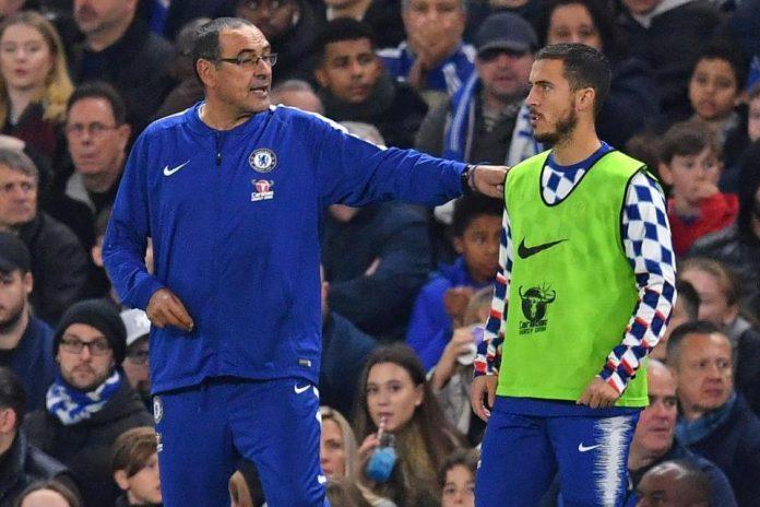 Rumor Hazard Boleh Pergi dari The Blues, Sarri 'Jangan'