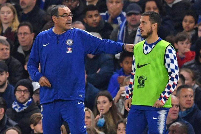 Rumor: Hazard Boleh Pergi dari The Blues, Sarri 'Jangan'