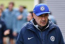 Sanksi Embargo Pemain Buat Sarri Pesimistis Chelsea Bisa Kejar City dan Liverpool