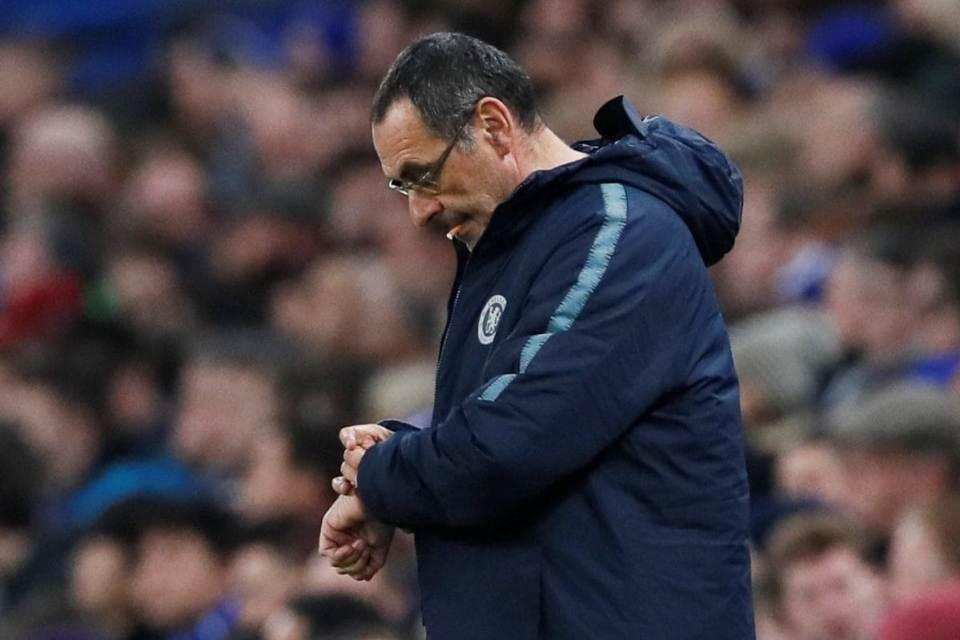 Sarri Menyerah Latih Chelsea