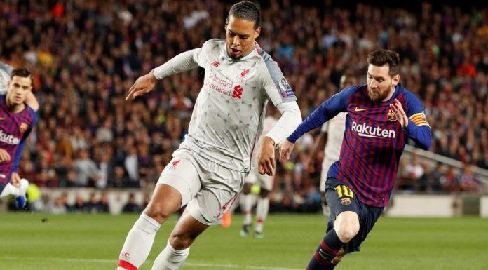 Van Dijk Disebut Sebagai Kambing Hitam Tumbangnya Liverpool Dari Barcelona
