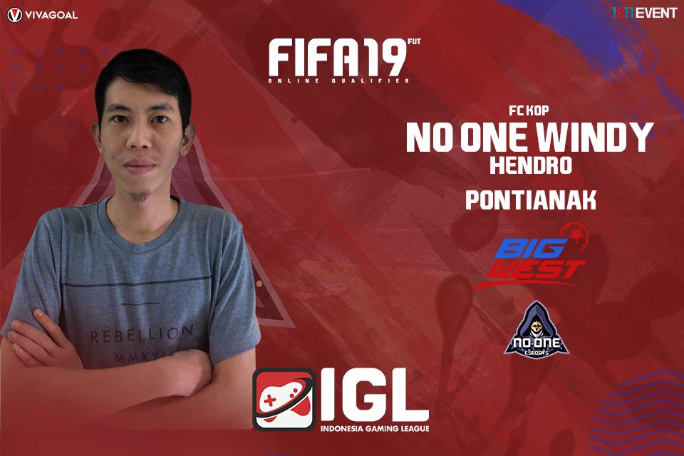 Juara FIFA 19 FUT IGL Menjadi Target Utama Windy Hendo
