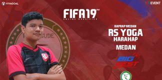 Ekspektasi Tinggi Yoga Harahap di Big League FIFA 19 FUT
