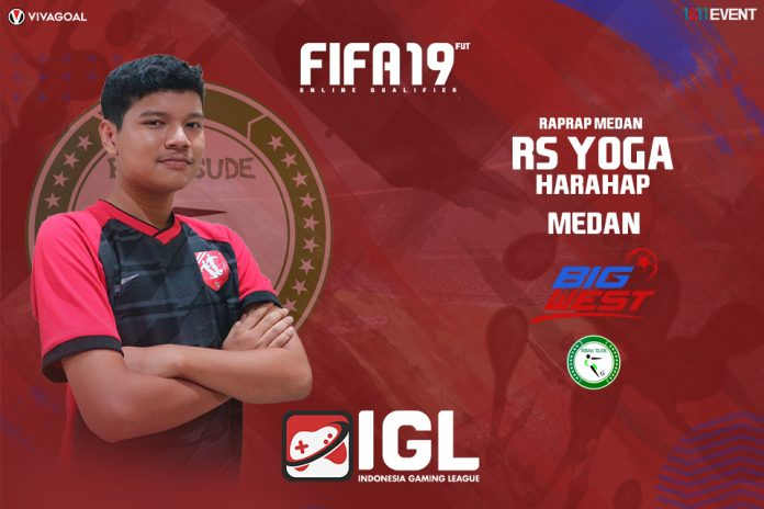Ekspektasi Tinggi Yoga Harahap di Big League FIFA 19 FUT