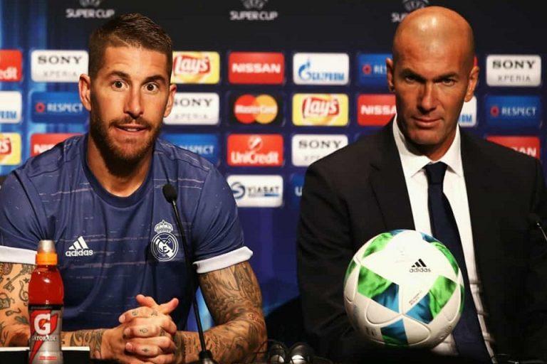 Zidane Konsultasi Ke Ramos Untuk Rekrut 5 Pemain Ini, Siapa Saja?