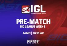 Persiapan Curi Poin Jelang Libur Lebaran di Minggu Ketiga Big League IGL